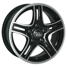 4 jantes S110 - 18' - Black Polished