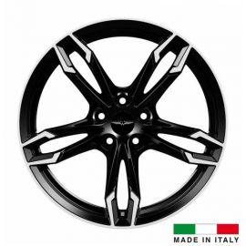 4 jantes Italian Wheels DAZIO Black 18 pouces