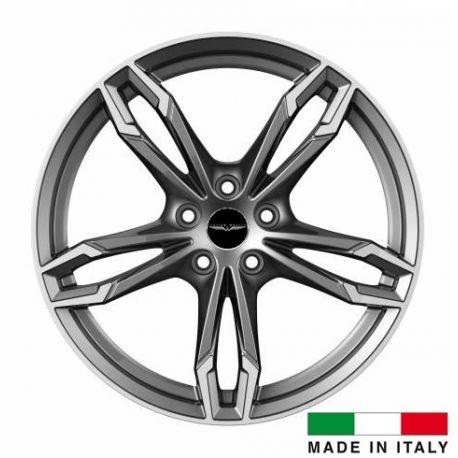 4 jantes Italian Wheels DAZIO Gunmetal 19 pouces