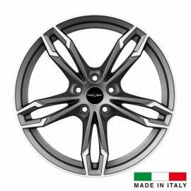 4 jantes Italian Wheels DAZIO Matt Gun 18 pouces