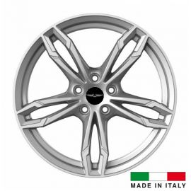 4 jantes Italian Wheels DAZIO Silver 18 pouces