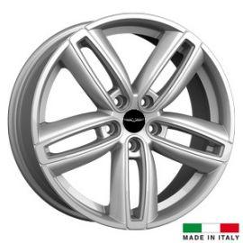 4 jantes Italian Wheels DERVIO Silver 18 pouces