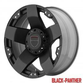 4 Jantes Vog'art Black panther 17 pouces