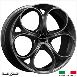 4 Jantes ITALIAN WHEELS DARKE - 19' anthracite