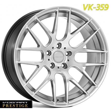 "4 Jantes Vog'art Prestige - VK359 - Black ou Silver - 19"""