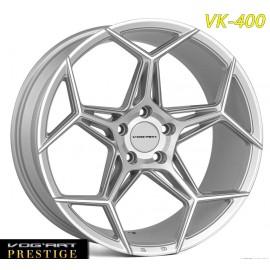 """4 Jantes Vog'art Prestige - VK400 - 19"""" - Silver"""