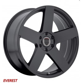 "4 Jantes Dodge EVEREST - 22"" - Black"