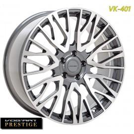 "4 Jantes Vog'art Prestige - VK401 - 22"" - Anthracite Poli"