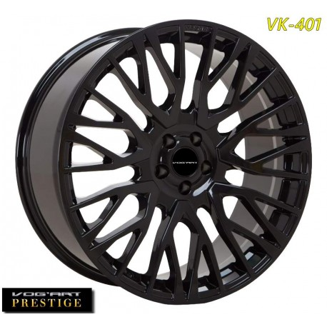 """4 Jantes Vog'art Prestige VK401 - 23"""" - Black"""