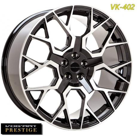 """4 Jantes Vog'art Prestige VK402 - 22"""" - Anthracite"""