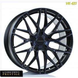"""4 Jantes Vog'art Prestige VK651 - 22"""" - Black"""