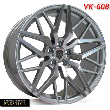"""4 Jantes Vog'art Prestige VK608 - 19"""" - Anthracite"""