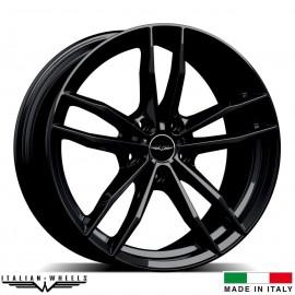 "4 Jantes SOLTO - Italian wheels - 18"" - Noir"