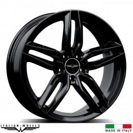 "4 Jantes FIRENZE - Italian wheels - 18"" - Noir"