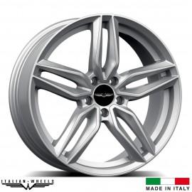 "4 Jantes FIRENZE - Italian wheels - 20"" - Argent"